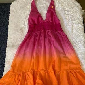 Swim cover up dress